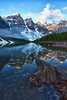 Canadian Rockies, Banff National Park, Moraine Lake, Landscape, HDR, 加拿大, 班夫国家公园, 风景, 高动态范围拍摄