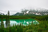 Canadian Rockies, Banff National Park, Waterfowl Lake, Landscape, 加拿大, 班夫国家公园 风景