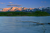 Canadian Rockies, Waterton Lake National Park, Sunset,  Landscape,  加拿大, 洛矶山脉, 沃特顿国家公园, 风景