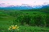 Canadian Rockies, Waterton Lake National Park, View from Distant North,  Dusk, Landscape, 加拿大, 洛矶山脉, 沃特顿国家公园, 风景