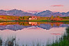 Canadian Rockies Farmland, Sunrise.  Landscape, Reflection,  加拿大, 洛矶山脉, 沃特顿国家公园, 风景