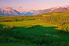 Canadian Rockies, Waterton Lake National Park, View from Distant North, Landscape, 加拿大, 洛矶山脉, 沃特顿国家公园, 风景
