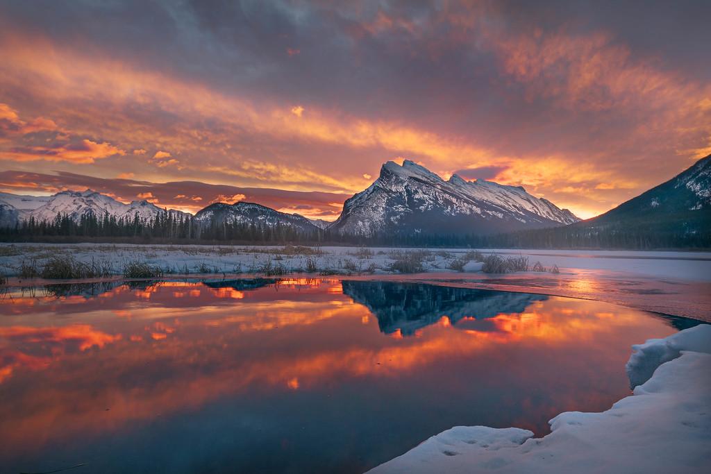 Sunrise Over Vermillion Lake