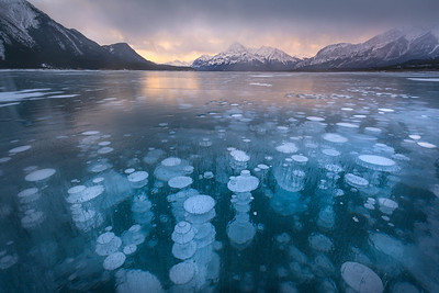 Methane Bubbles_Abraham Lake