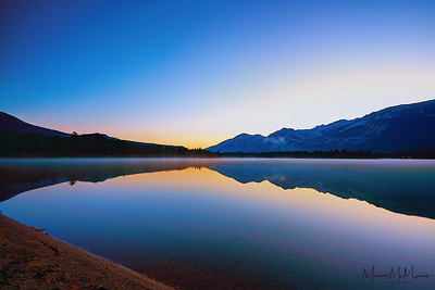 Lake Edith - Jasper National Park, Alberta
