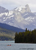 Maligne Lake Fishermen