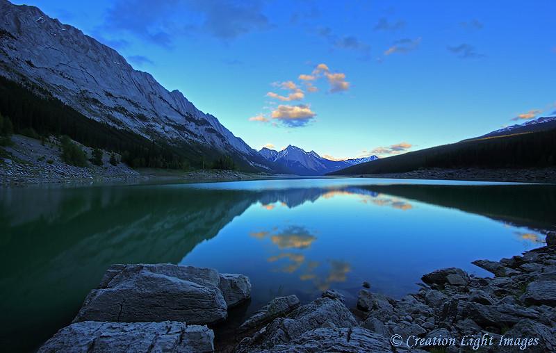 Medicine Lake Evening