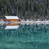 Lake Louise Christmas Card