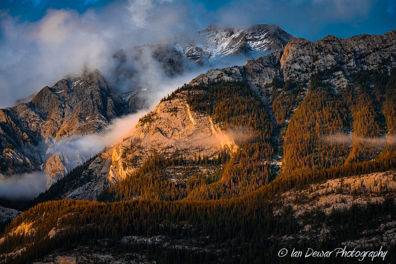 Late Spring Sunset in the Canadian Rockies