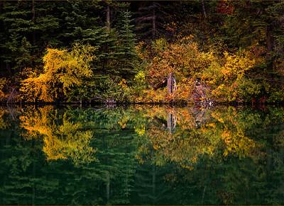 Edna Lake Reflection