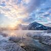 A Sunrise Through the Steam