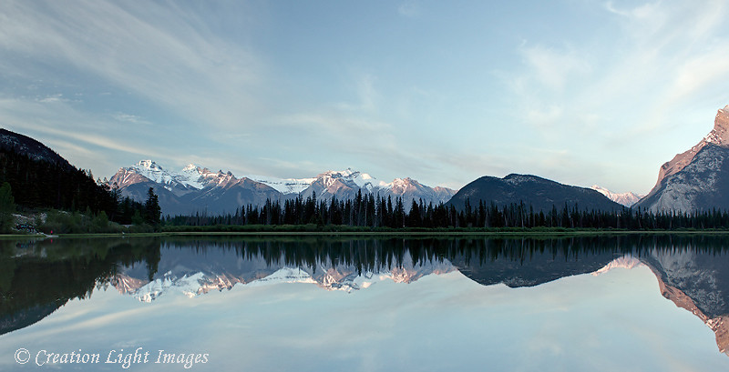 Vermillion Lakes Reflections 2