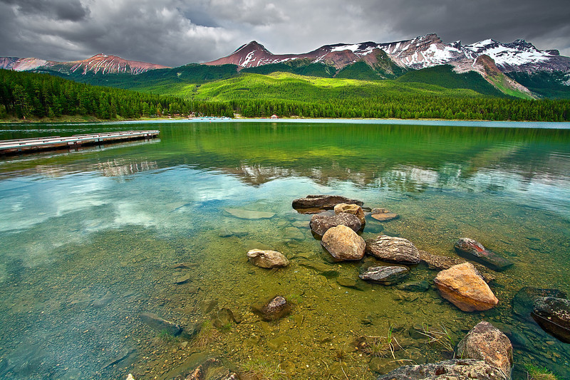Canadian Rockies, Jasper National Park, Maligne Lake, Landscape, 加拿大 贾斯珀国家公园 风景