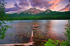 Canadian Rockies, Jasper National Park, Pyramid Lake, Sunrise, Landscape, 加拿大 贾斯珀国家公园 风景