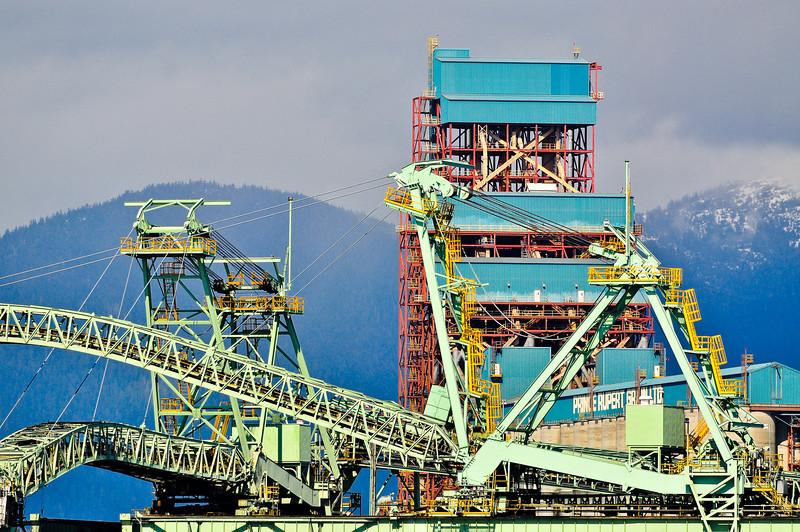 International grain shipping station