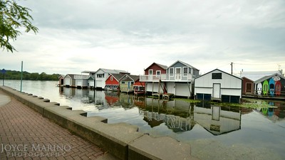 Canandaigua City Pier - Boat Houses