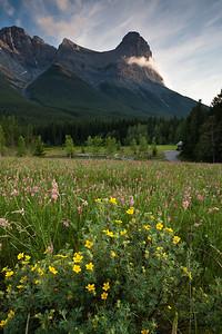 Ha-Ling Peak, Canmore Alberta