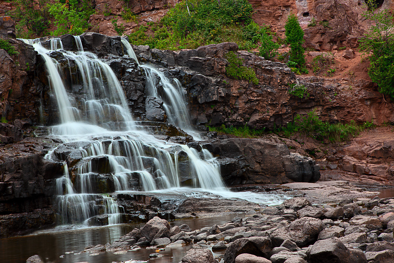 Gooseberry Falls.  Looks awesome printed BIG!