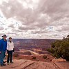 Dead Horse Point State Park is where Thelma & Louise ended it by driving off the cliff.