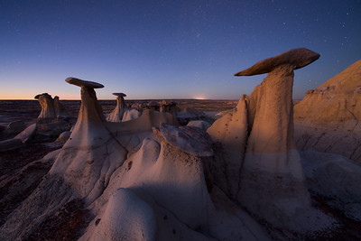 Twilight Hoodoos