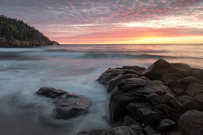 Sunrise at Black Brook Beach