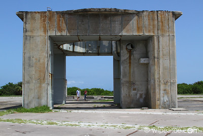 Apollo Saturn V launch pad with a couple of folks for perspective. Get notifications via: