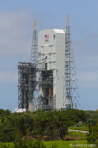 Delta 4 rocket waiting for launch. Get notifications via: