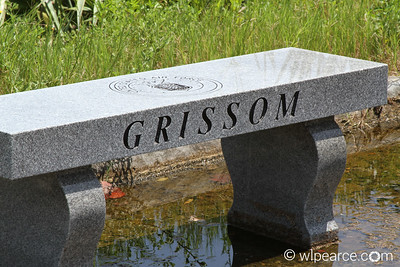 Memorial to Gus Grissom at Launch Complex 34.   Get notifications via: