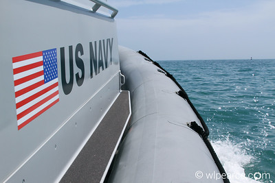 US Navy Patrol RIB headed out for a quick sweep. Get notifications via: