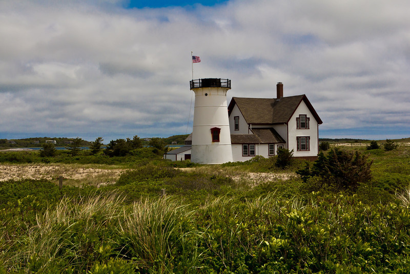 Stage Harbor Lighthouse , Cape Cod, MA