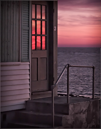 Cottage Sunset