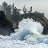 586  G Cape Disappointment Waves