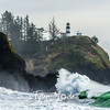 581  G Cape Disappointment Waves