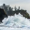 639  G Cape Disappointment Waves