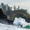 582  G Cape Disappointment Waves