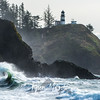 159  G Cape Disappointment Waves
