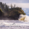 105  Cape Disappointment Waves Vase
