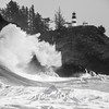 17  Cape Disappointment Waves Assault BW