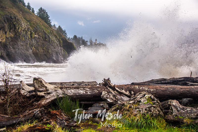 65  Cape Disappointment Waves Close