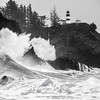 13  Cape Disappointment Waves Assault BW