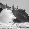 27  Cape Disappointment Waves BW