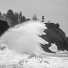 39  Cape Disappointment Waves BW
