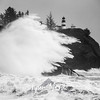 63  Cape Disappointment Waves BW