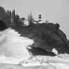 20  Cape Disappointment Waves BW
