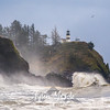 30  Cape Disappointment Waves Bald Eagle