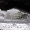 254  G Cape Disappointment Waves Close
