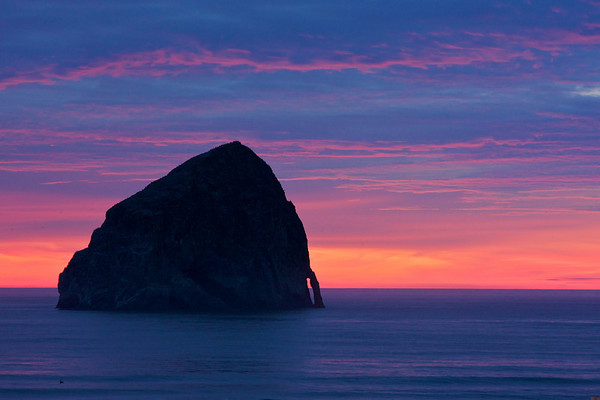 Haystack Rocks at Cape Kiwanda and Cannon Beach