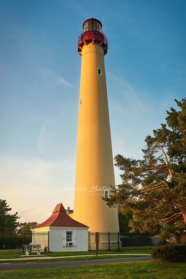 Cape May Lighthouse at dawn