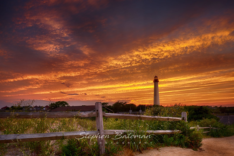 Cape May Lighthouse Sunset