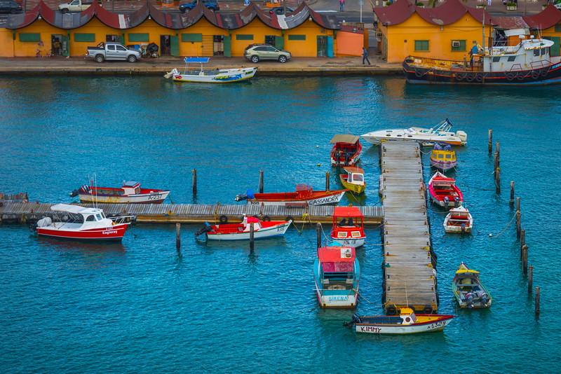 A Collage Of Fishing Life In Aruba - Aruba, Caribbean Islands